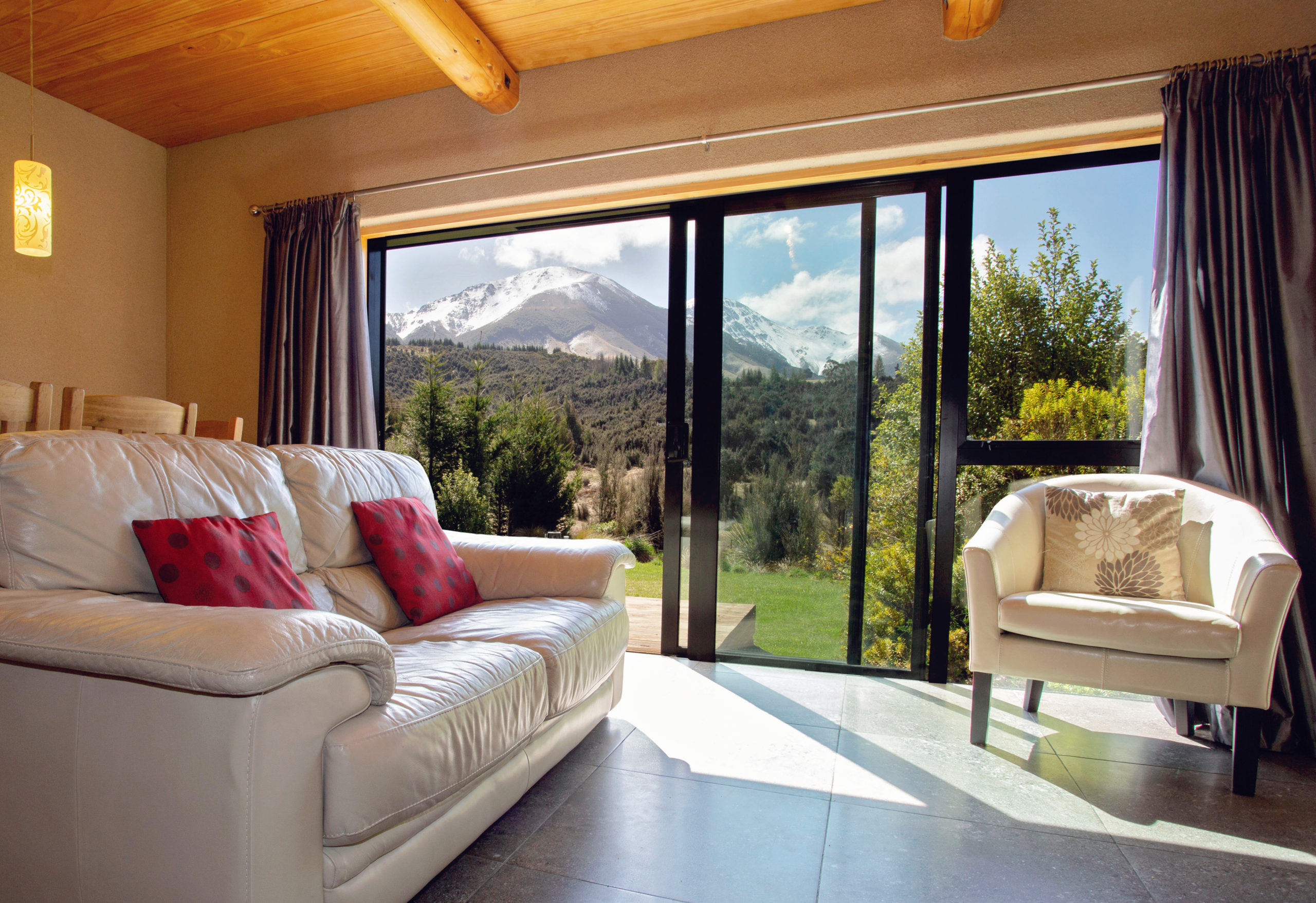 Stay in a log cabin or<br>eco lodge